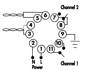 detector wiring harness